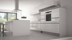 cuisine blanc mat cuisine blanc mat sans poignée 2017 avec cuisines comera images