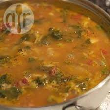 cuisiner le chou frisé soupe végétarienne au chou frisé recettes allrecipes québec