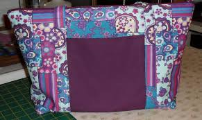 pattern for tote bag with zipper made by nomes zippered tote bag