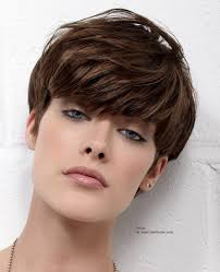 very short hairstyles with long bangs short mushroom haircut with