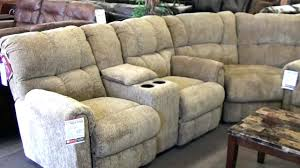sectional recliner sofa with cup holders sofas