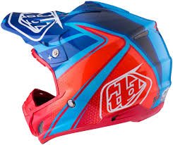 usa motocross gear troy lee designs lps 7605 troy lee designs se3 neptune blue red