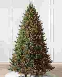 pre lit christmas trees with color clear lights balsam hill