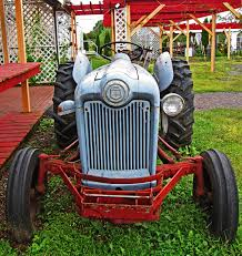 front end of classic 1953 golden jubilee ford tractor love u0027s