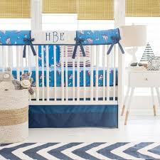 Navy Crib Bedding Nautical Crib Rail Cover Set Navy Crib Rail Cover Navy Crib