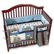 Nojo Crib Bedding Set Nojo Ahoy Mate 6 Crib Bedding Set Bed Bath Beyond