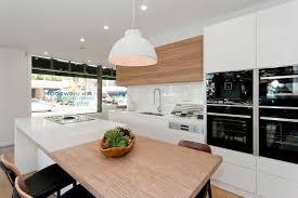Kitchen Cabinets Australia Countertops Backsplash Caesarstone Neolith Dulux White Poly