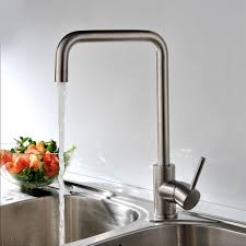 kes l6250b single lever lead free kitchen faucet with high arc