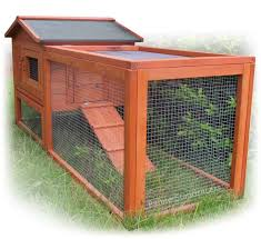 Fox Proof Rabbit Hutches Chicken Coop Hen House Rabbit Hutch Poultry Wood Cage House