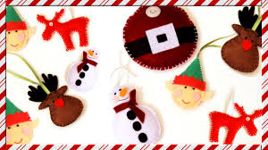 diy christmas tree ornaments super easy and inexpensive felt