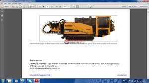 vermeer d36x50drii navigator horizontal directional drill operator