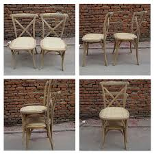 Cross Back Dining Chairs Wholesale Wood X Cross Back Dining Chair With Cushion For Living
