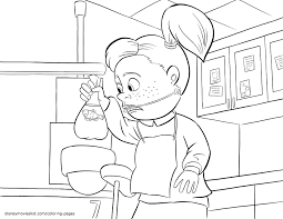 crush u0026 coloring page for finding nemo