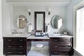 Bathroom Vanity Ideas Double Sink Bathroom Vanities With Makeup Table Practical And Elegant Home