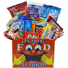 junk food gift baskets junk food junkie gift basket free shipping today overstock