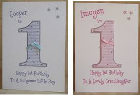 handmade personalised 1st 2nd 3rd 4th 5th 6th boys girls birthday