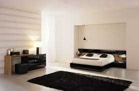 Teak Bedroom Furniture Lego Black Lacquer And Teak Bed Modern Low Profile Queen Bed By