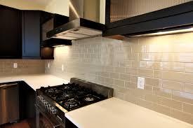elegant kitchen backsplash for dark cabinets alluring interior