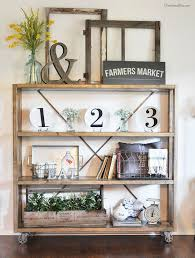 Diy Restoration Hardware Reclaimed Wood Shelf by Best 25 Rustic Bookshelf Ideas On Pinterest Bookshelf Diy Diy