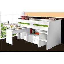 lit enfant combiné bureau lit enfant combiné blanc 90x200 avec bureau blanc terre de nuit la