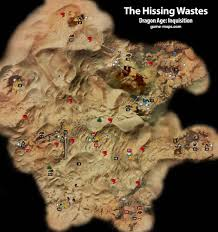 Crestwood Map The Hissing Wastes Dragon Age Inquisition Game Maps Com