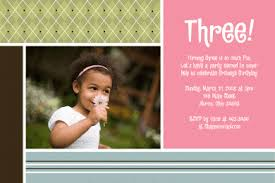 3 year old birthday party invitation wording cimvitation
