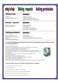 24 free esl requests worksheets