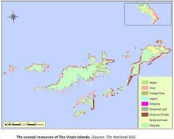 Bvi Map British Virgin Islands