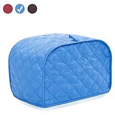 Toaster Covers Amazon Com Ritz Quilted Two Slice Toaster Cover Dust And