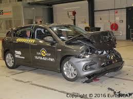 laferrari crash test 2016 fiat tipo earns 3 star euro ncap safety rating 4 stars with