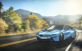 Bmw I8 Night - bmw i8 blue wallpapers hd wallpapers