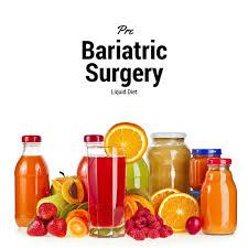 pre bariatric surgery liquid diet bariatric surgery program