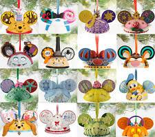 disney mouse ornaments ebay