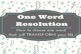 one word resolution embracing