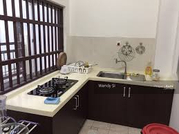 double storey house for rent with kitchen cabinet double storey