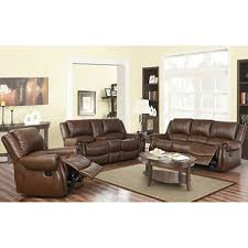 Leather Sofa Loveseat Harvest Reclining Sofa Loveseat And Chair Set Sam S Club