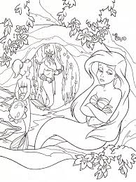 princess ariel coloring pages disney mermaid ariel coloring
