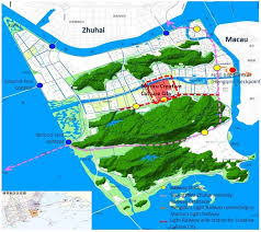 Zhuhai China Map by Attractions Management Video Games Attraction Part Of Major