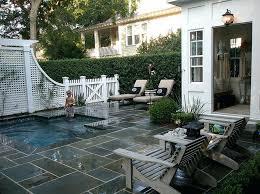 Inground Pool Landscaping Ideas Small Backyard Pool Design Ideas Small Backyard Pool Landscaping