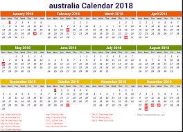 Kalender 2018 Free Free Calendar 2018 Australia Printable Newspictures Xyz