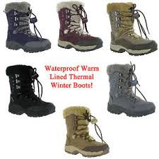 womens winter boots uk hi tec st moritz waterproof thermal warm fur boots womens