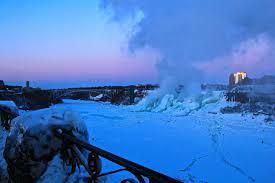niagara falls frozen u2013 u0026
