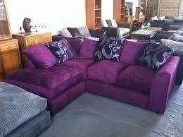Purple Corner Sofas Purple Velvet Sectional Sofa Tehranmix Decoration