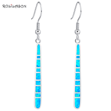 silver dangle earrings for prom online shop rolilason hot sale prom dangle earrings for women