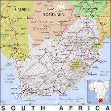 Map South Africa Za South Africa Public Domain Maps By Pat The Free Open