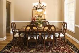 Area Rug For Dining Room Table How To Determine The Correct Rug Size For A Dining Room Home