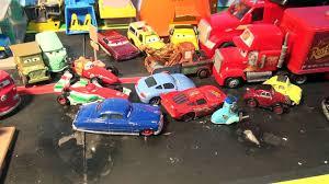 cars sally and lightning mcqueen disney pixar cars new hauler with lightning mcqueen sally sheriff
