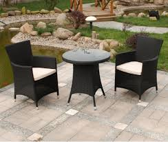 Outdoor Furniture For Small Spaces by Design Ideas For Black Wicker Outdoor Furnitur 20689