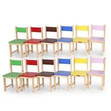 Toddler Wooden Chair Childs Wood Chair Ebay