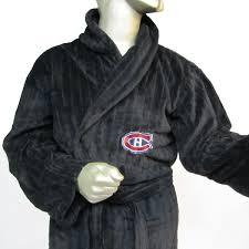 chambre canadien de montreal canadiens de montréal robe de chambre pour homme collecto sports